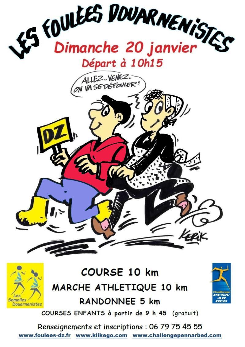 20 janvier 2019 : Les Foulées douarnenistes